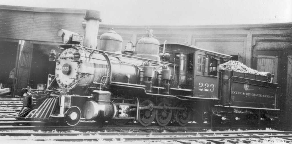223 At the Gunnison Roundhouse - Nathan Holmes Collection