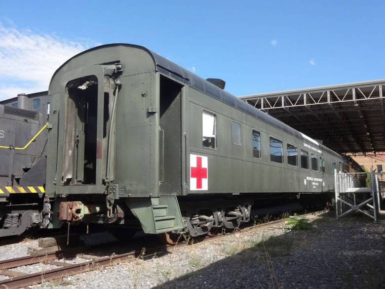 US Army Hospital Car - Photo Provided by the Ogden Union Station Collection