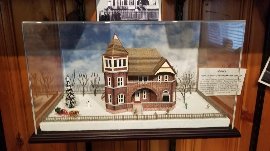 North Ogden Historical Museum - Dummy Line Display